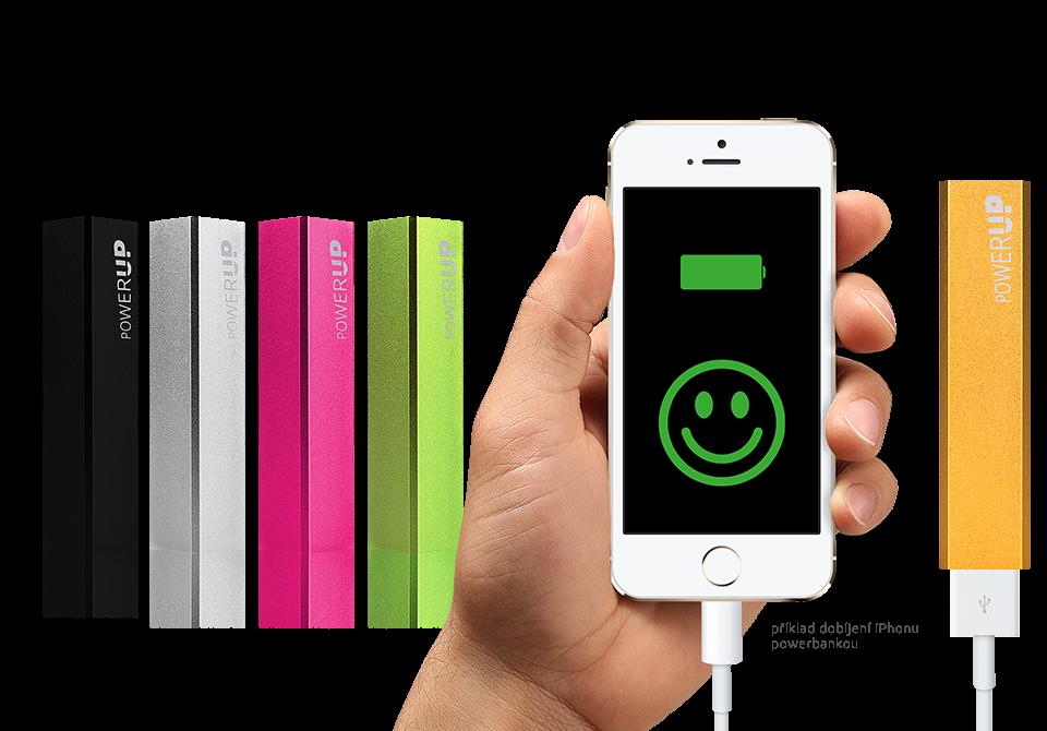 Představujeme powerbanku pro mobily